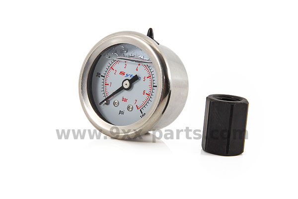 Fuel Pressure Gauge with Adapter